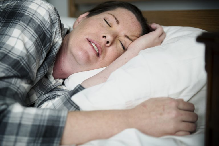 A Woman With Problem Sleeping